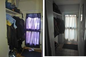 Voor en na foto s - Schilderen voor entree en hal ...